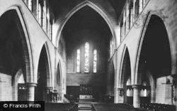 Bridgend, Nolton, St Mary's Church Interior 1898