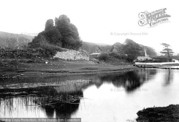 Bridgend, Ogmore Castle 1898