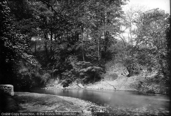 Bridgend, Ogmore River 1898