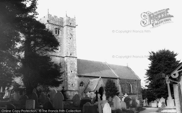 Bridgend, Parish Church c.1965