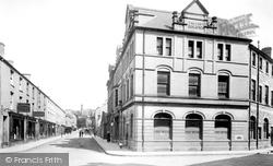 Post Office And Caroline Street 1899, Bridgend