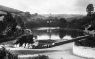 Bridgend, River Yealm 1901