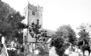 Bridgend, St Illtyd's Church 1898