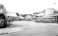 Bridgend, the Bus Station c1960