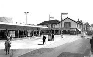 Bridgend, the Bus Station c1965