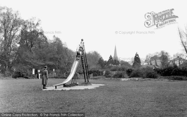 Bridgend, The Childrens Corner, The Park c.1955
