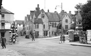 Bridgend, The Cross 1950