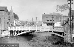 The Embassy Bridge c.1960, Bridgend