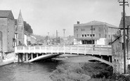 Bridgend, The New Bridge c.1960
