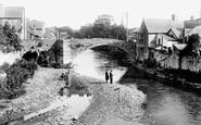 Bridgend, the Old Bridge 1910