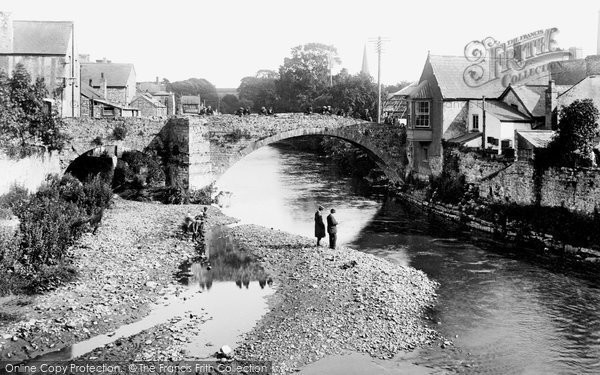 Photo of Bridgend, the Old Bridge 1910