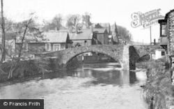 Bridgend, The Old Bridge c.1955