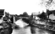 Bridgend, The Old Stone Bridge 1898