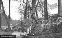 Bridgend, The Rock Gardens c.1955