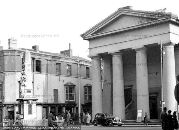 Bridgend, The Town Hall c.1955
