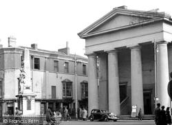 The Town Hall c.1955, Bridgend