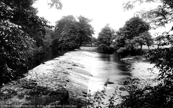 Bridgend, The Weir 1910