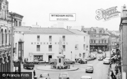 Bridgend, Wyndham Hotel c.1960