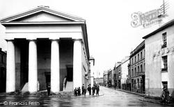 Wyndham Street And Town Hall 1910, Bridgend