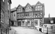 Bridgnorth, Bishop Percy's House c.1950