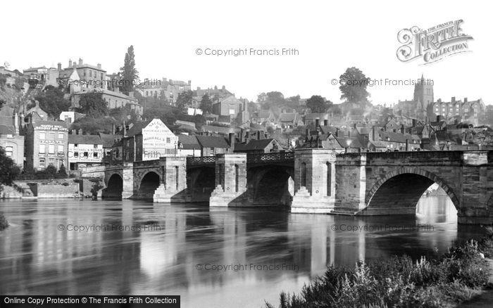 Photo of Bridgnorth, Bridge 1898