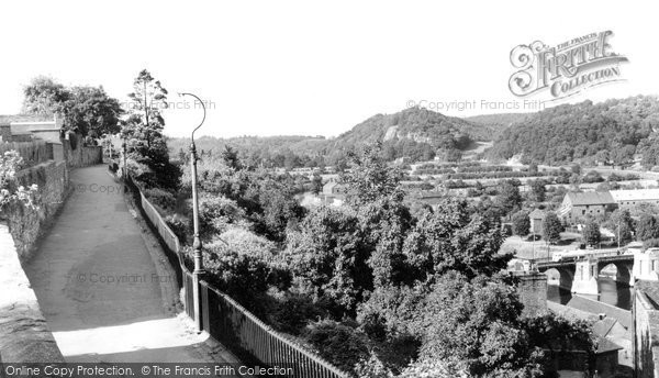 Bridgnorth, Castle Walk c.1960