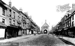 Bridgnorth, High Street 1896