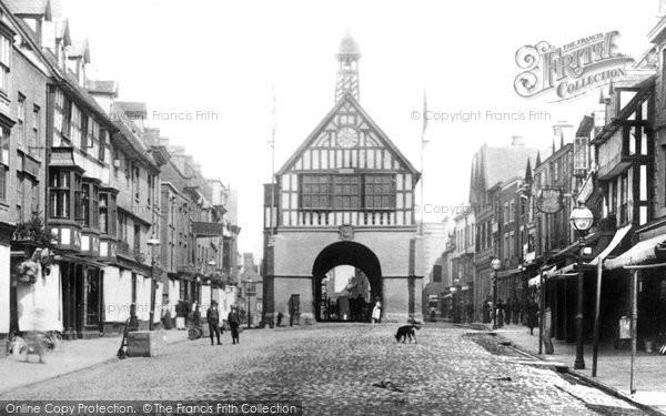 Photo of Bridgnorth, High Street 1896