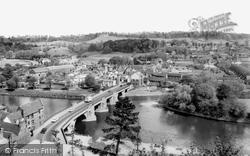 Bridgnorth, Low Town And Queens Parlour c.1965