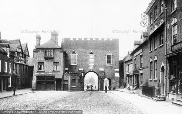 Photo of Bridgnorth, North Gate 1896