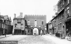 Bridgnorth, North Gate 1896
