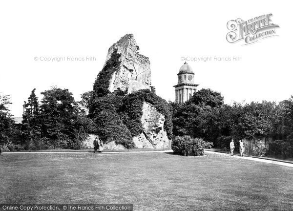 Bridgnorth, Old Castle And Grounds c.1950