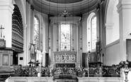 Bridgnorth, St Mary Magdalene Interior c.1960