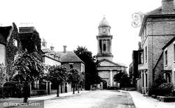 Bridgnorth, St Mary's Church 1896
