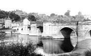 Bridgnorth, The Bridge c.1950
