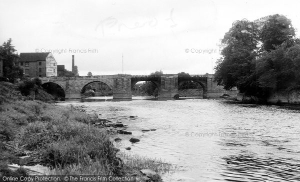 Bridgnorth, The Bridge c.1955