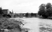 Bridgnorth, The Bridge c.1955