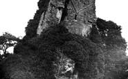 Bridgnorth, The Castle Ruins c.1950