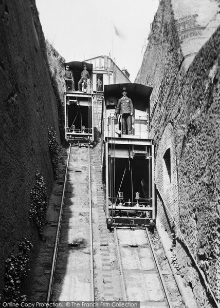 Photo of Bridgnorth, the Lift 1898, ref. 42631