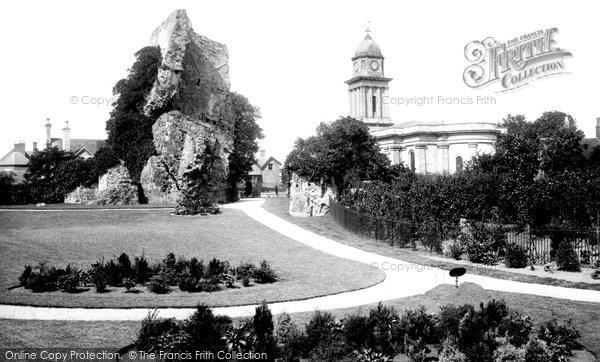 Bridgnorth, The Recreation Ground 1898