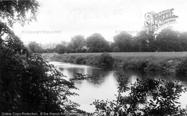 Bridgnorth, The River Severn c.1955