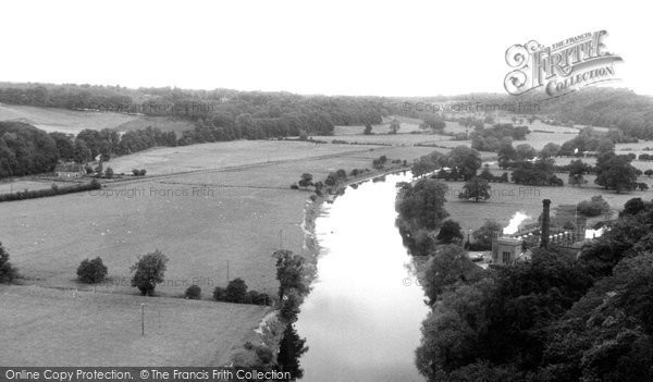Bridgnorth, The River Severn c.1955
