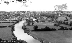 Bridgnorth, The River Severn From High Rock c.1955