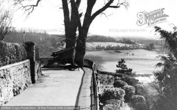 Bridgnorth, View From Castle Hill c.1950