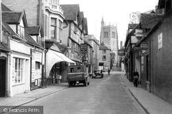 Bridgnorth, Whitburn Street c.1950