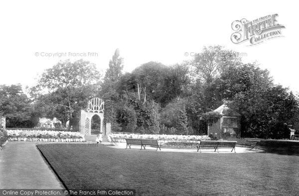 Bridgwater, Blake Gardens 1902