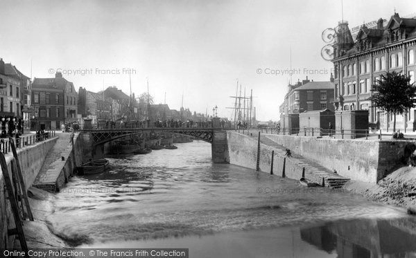Bridgwater, Bore On River 1906