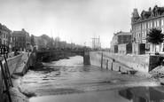 Bridgwater, Bore On River 1906
