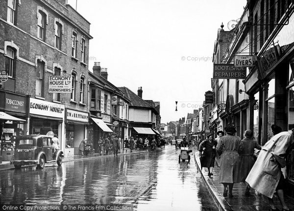 Bridgwater, Eastover c.1950