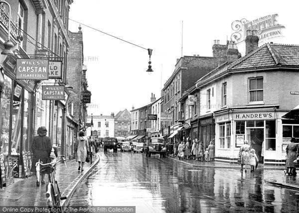 Bridgwater, Eastover c.1950